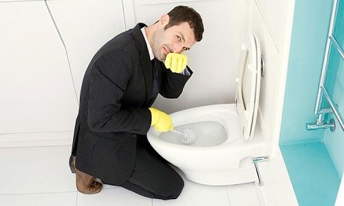 vì sao nhà vệ sinh có mùi hôi